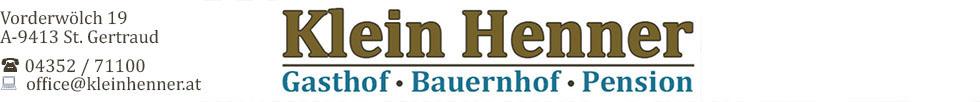 Klein-Henner - Gasthof Pension